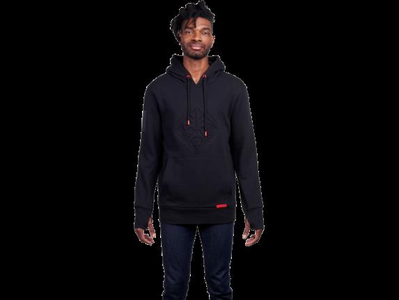 Sudadera con capucha para hombre HP OMEN Voodoo negra: talla L