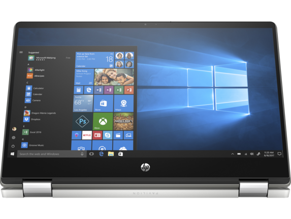 HP Pavilion x360 14-dh1031nr - Right screen center