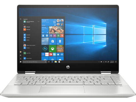 HP Pavilion x360 Convertible Laptop PC 14-dh0048tu