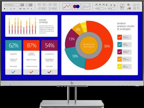 HP EliteDisplay E243p 23,8-Zoll-Monitor (Sure View)