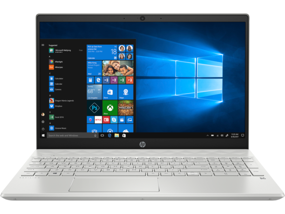 HP Pavilion 15-cs1067nr - Center