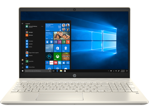 "HP Pavilion Laptop - 15t [Windows 10 Home 64, 10th Gen Intel® Core™ i7 processor, Intel® Iris® Plus Graphics, 16 GB memory; 512GB SSD Storage; 32 GB Intel® Optane™ memory, 15.6"" diagonal HD display]"