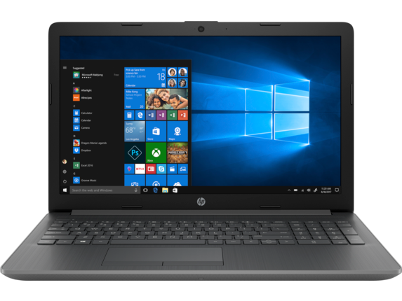 HP Notebook - 15-db01030nr touch - Center