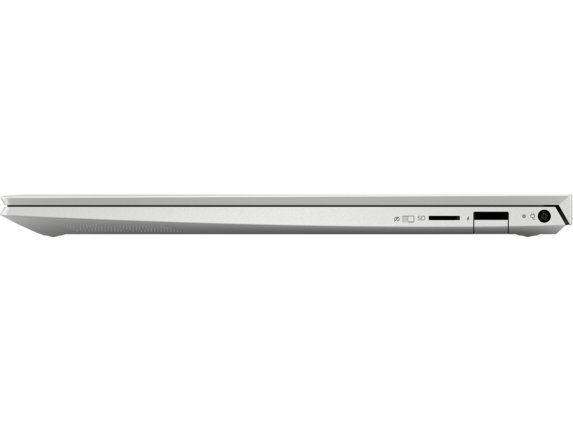 HP ENVY Laptop -13t - Left profile closed|Natural Silver