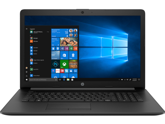 HP Notebook - 17-ca1061nr - Center