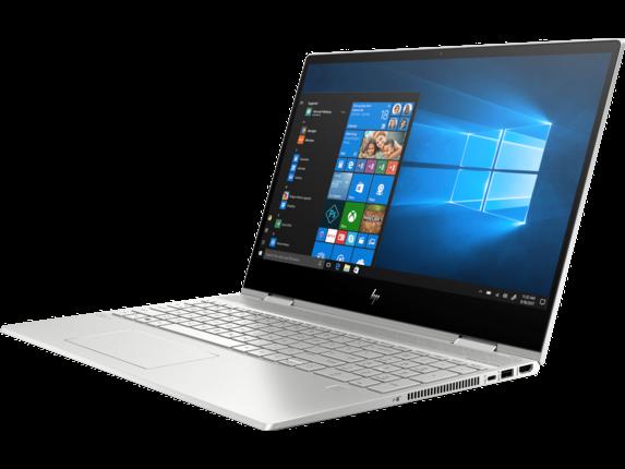 "HP ENVY 15"" Laptop + 25"" Display Bundle - Left profile closed"