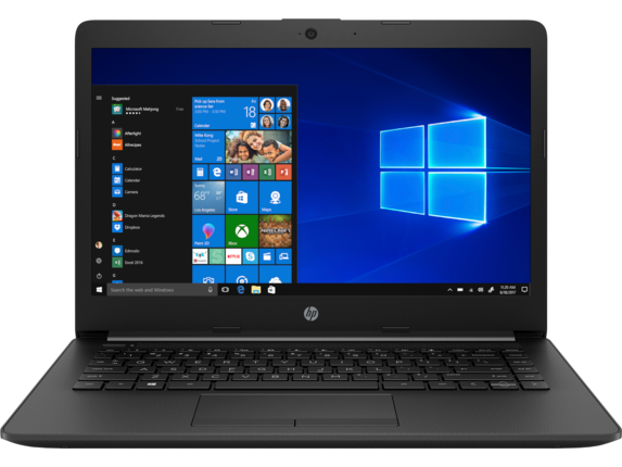 HP Laptop - 14t touch optional - Center