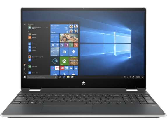 HP Pavilion x360 - 15-dq0081nr - Center