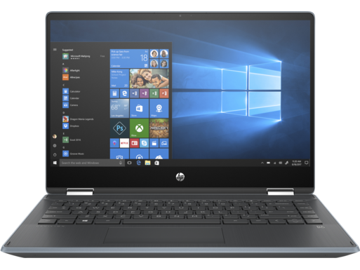 HP Pavilion x360 Laptop - 14t touch optional