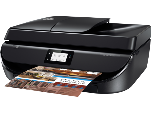 HP OfficeJet 5260 All-in-One Printer - Left