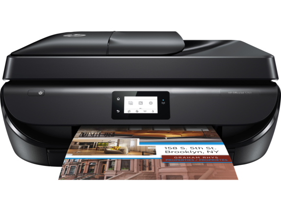 HP OfficeJet 5260 All-in-One Printer - Center