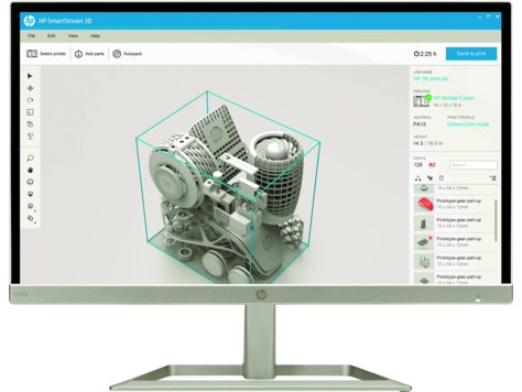 HP SmartStream 3D Build Manager