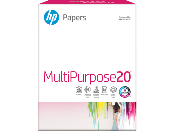 HP Multipurpose Paper-500 sht/Letter/8.5 x 11 in