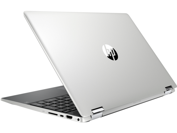 HP Pavilion x360 - 15-dq0081nr - Left rear