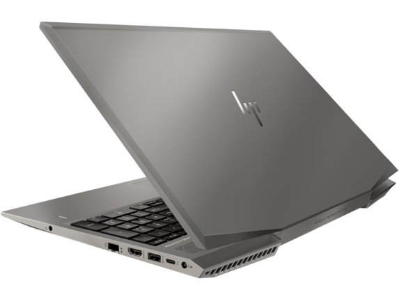 HP ZBook 15v G5 Mobile Workstation - Customizable - Left rear