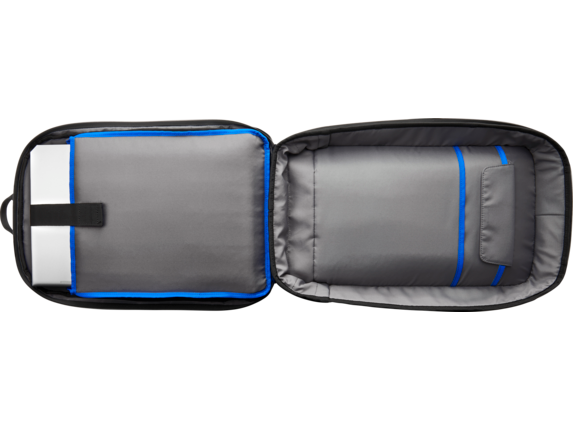 HP Recycled Series 15.6-inch Backpack - Top view closed