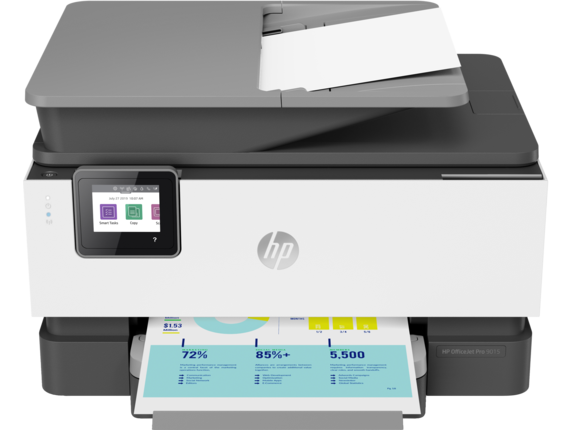 HP OfficeJet Pro 9015 All-in-One Printer - Center