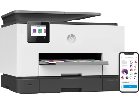HP OfficeJet Pro 9025 All-in-One Printer - Right