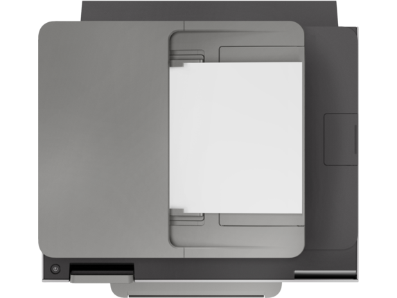 HP OfficeJet Pro 9025 All-in-One Printer - Top view closed