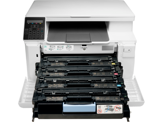 HP Color LaserJet Pro MFP M180nw - Detail view