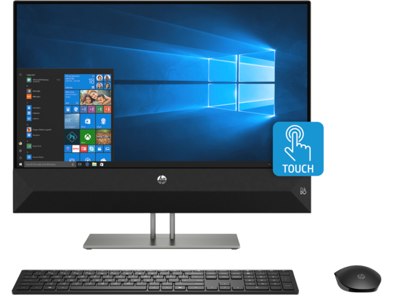 HP Pavilion All-in-One - 24-xa1045z - Center