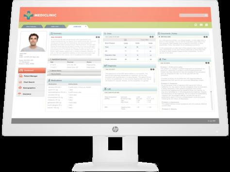 HP Healthcare Edition HC241 Klinik Değerlendirme Monitörü