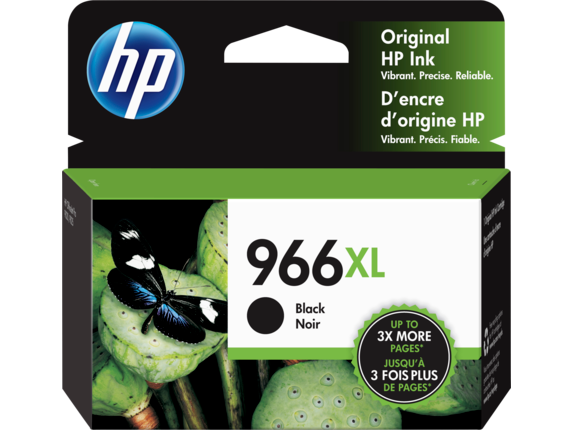HP 966XL High Yield Black Original Ink Cartridge
