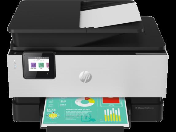 HP OfficeJet Pro Premier All-in-One Printer - Center