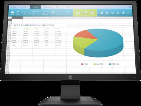 Monitor HP P204 de 19,5 pulgadas