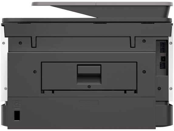 HP OfficeJet Pro 9025 All-in-One Printer - Rear