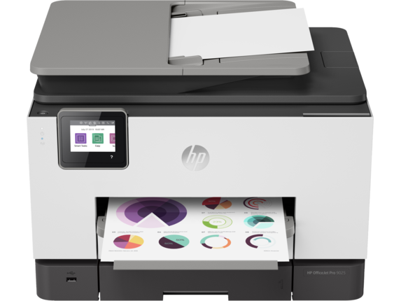 HP OfficeJet Pro 9025 All-in-One Printer - Center