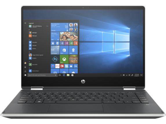 HP Pavilion x360 Laptop - 14t touch optional - Center