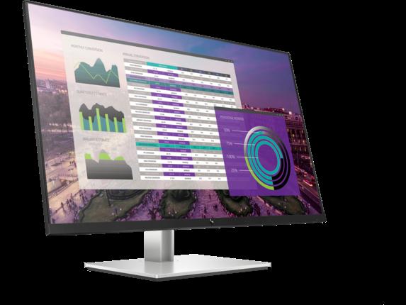 HP EliteDisplay E324q 31.5-inch QHD Monitor - Right