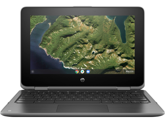 HP Chromebook x360 11 G2 EE Notebook PC - Customizable - Center |Storm Grey