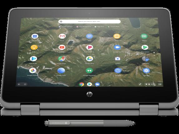 HP Chromebook x360 11 G2 EE Notebook PC - Customizable - Right screen center |Storm Grey