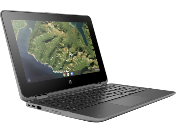 HP Chromebook x360 11 G2 EE Notebook PC - Customizable - Right |Storm Grey
