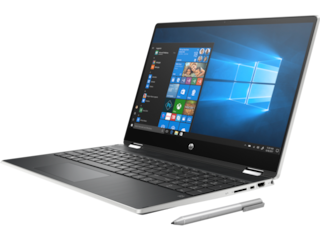 HP Pavilion x360 Convertible - Intel® Core™ i5-1135G7 (up to 4.2 GHz, 8 MB L3 cache, 4 cores) + Intel® Iris® - 8 GB DDR4-3200 SDRAM (2 X 4 GB) - 1 TB 5400 rpm SATA; 128 GB M.2 SSD - 15.6