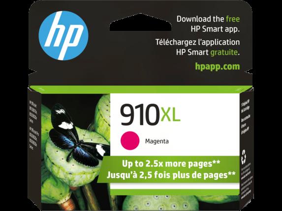 HP 910XL High Yield Magenta Original Ink Cartridge