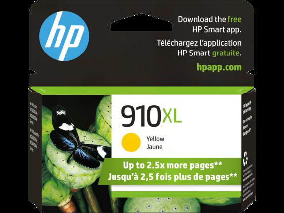 HP 910XL High Yield Yellow Original Ink Cartridge