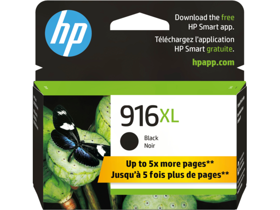 HP 916XL High Yield Black Original Ink Cartridge