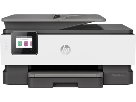 סדרת מדפסות HP OfficeJet Pro 8020 All-in-One