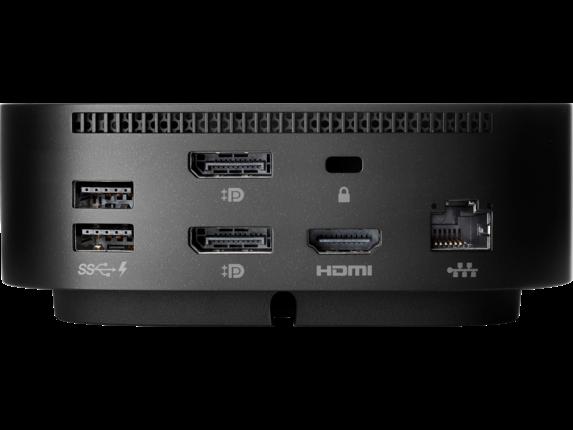HP USB-C Dock G5 - Rear