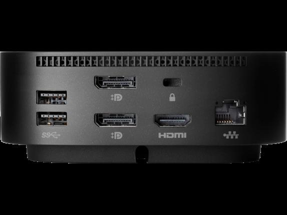 HP USB-C/A Universal Dock G2 - Rear