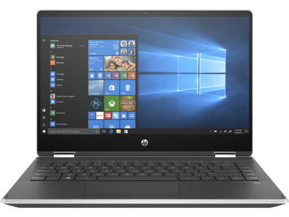 HP Pavilion x360 14-dh0013nr - Center