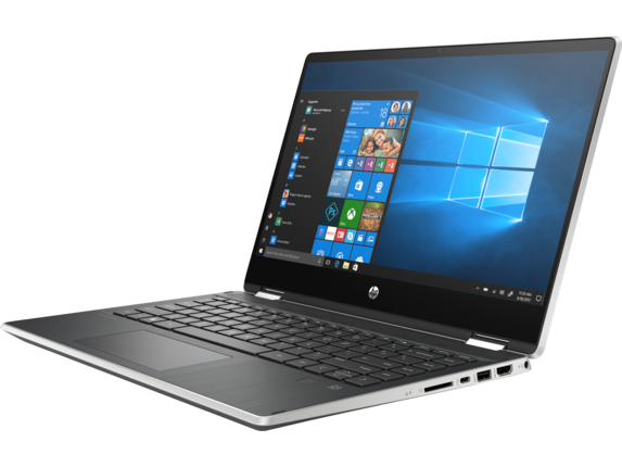 HP Pavilion x360 14-dh0013nr - Left