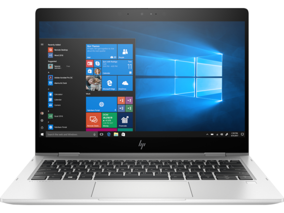 HP EliteBook x360 830 G6 Notebook PC - Center