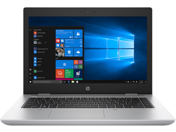 HP ProBook 640 G5 Notebook PC - Center |Natual Silver
