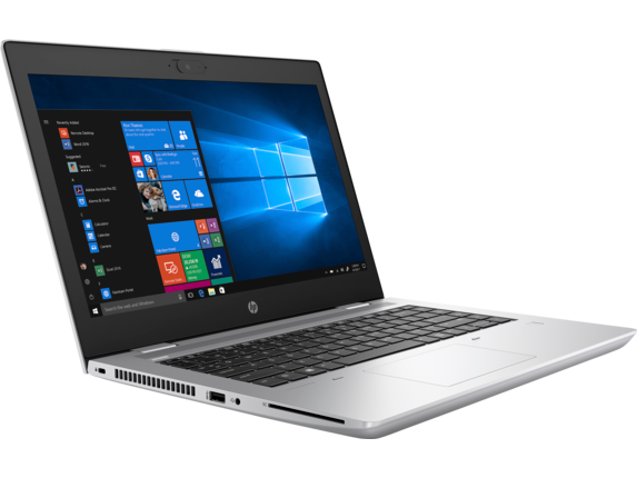 HP ProBook 640 G5 Notebook PC - Customizable - Right |Natual Silver