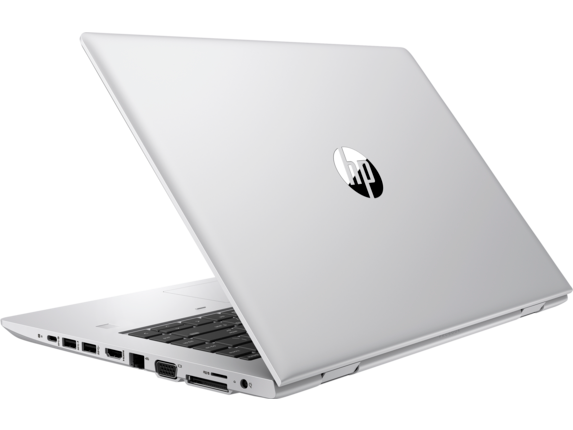 HP ProBook 640 G5 Notebook PC - Customizable - Left rear |Natual Silver