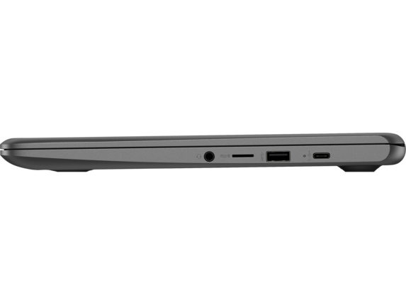 HP Chromebook 14A G5 - Left profile closed